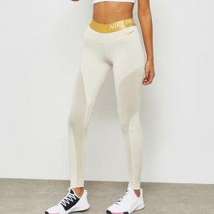 Nike Pro Warm Sparkle 7/8 Training Tights AO9228